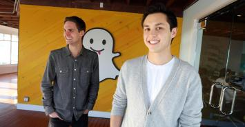 snapchat founders