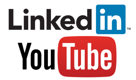 Linkedin and YouTuve